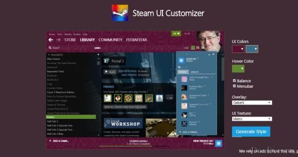 Как самому создать свой скин для Steam