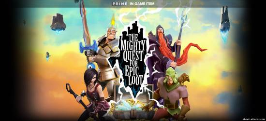 The Mighty Quest for Epic Loot  для Uplay